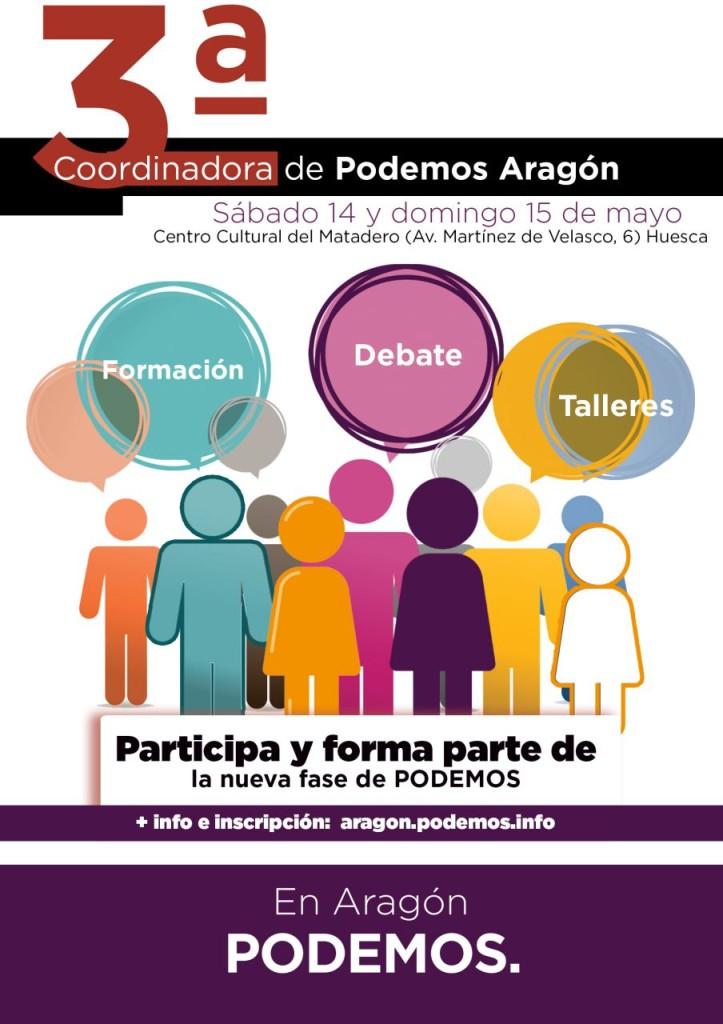 3ª Coordinadora de Podemos Aragón