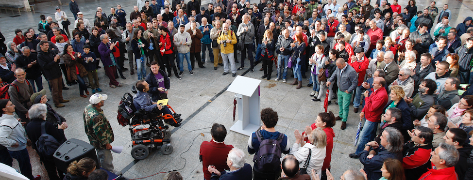 Circulo con Pablo Echenique - Podemos Aragón