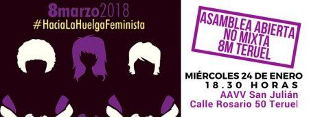 Asamblea Hacia la huelga 8M. (Teruel)