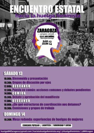 encuentro estatal hacia la huelga feminista del 8M