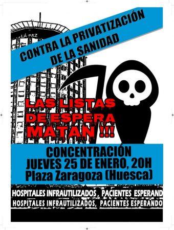 concentración privatizacion sanidad