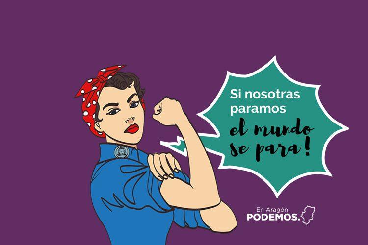 Si Nosotras Paramos Portada De Twitter Podemos Aragón