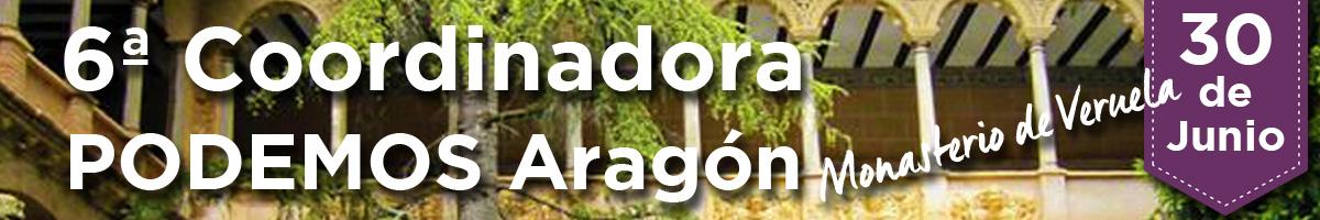 6º coordinadora de Podemos Aragón