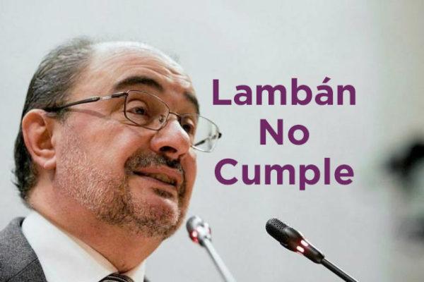 Lambán No Cumple