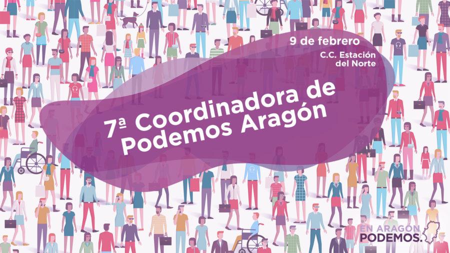 7ª Coordinadora de Podemos Aragón