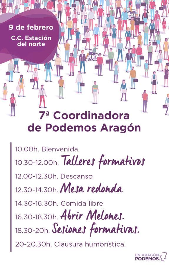 7a Coordinadora Podemos Aragón