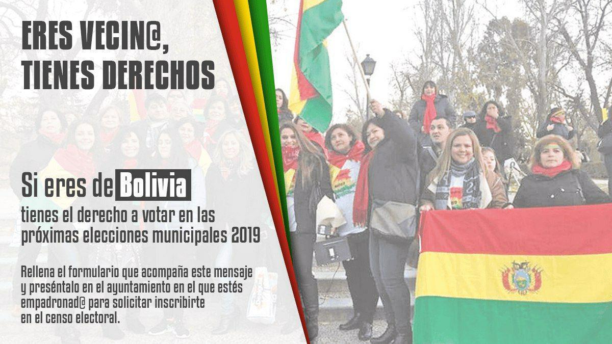 Voto migrante Bolivia