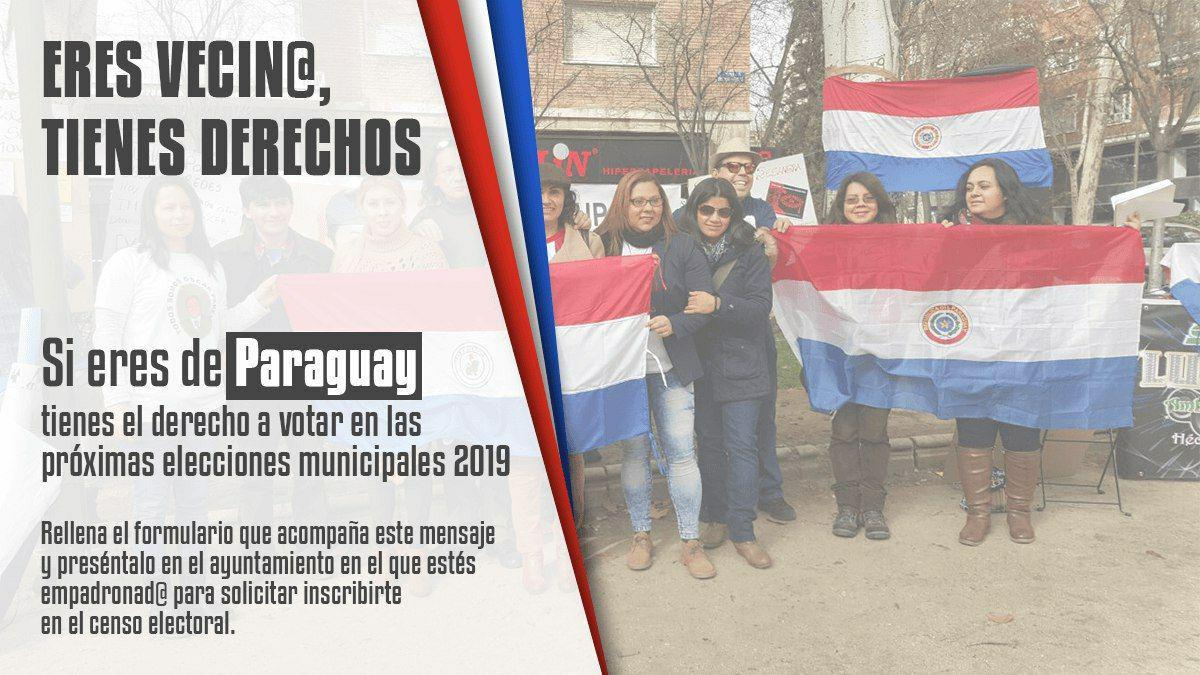Paraguay voto migrante