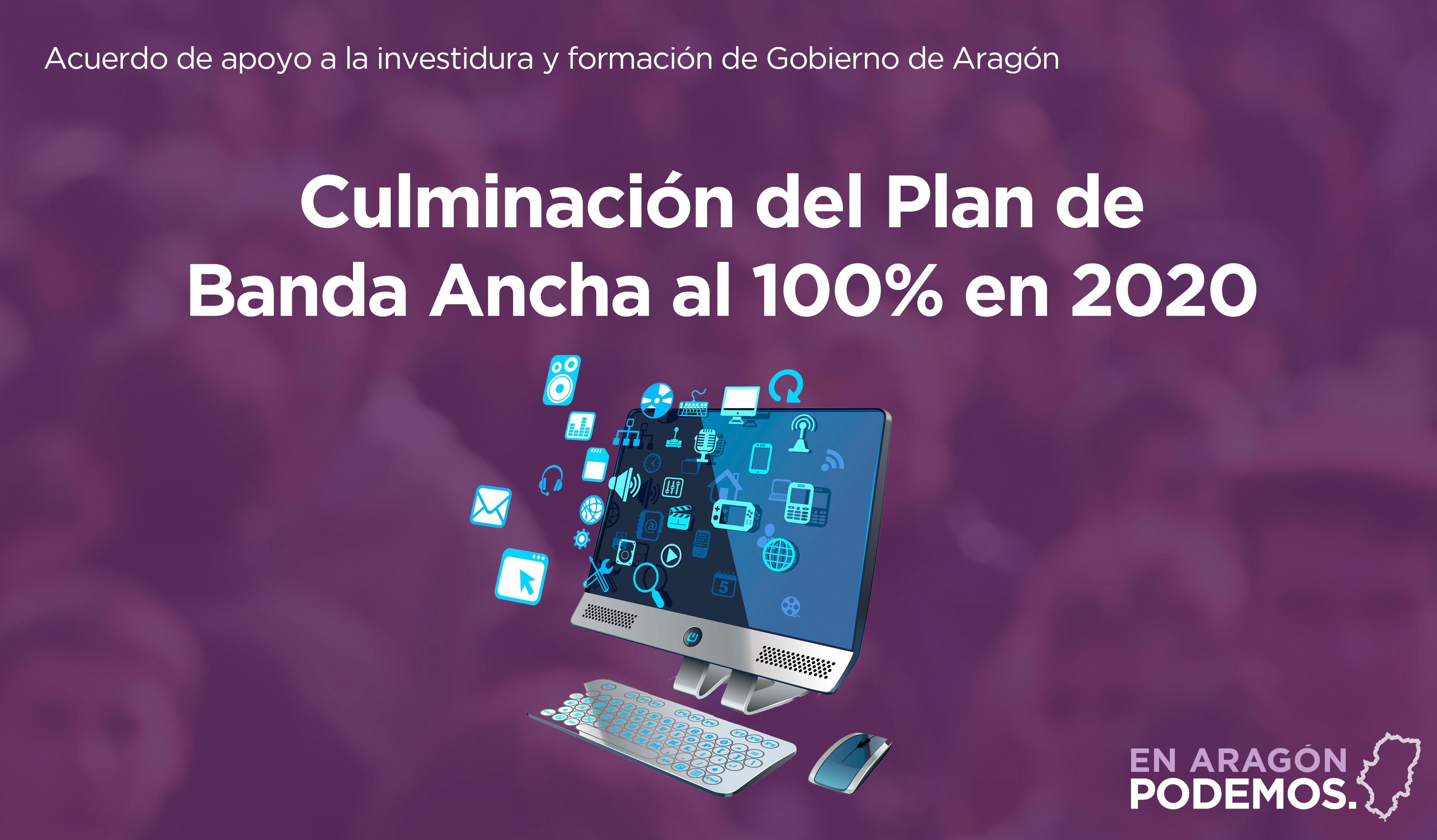 Plan de Banda Ancha al 100%
