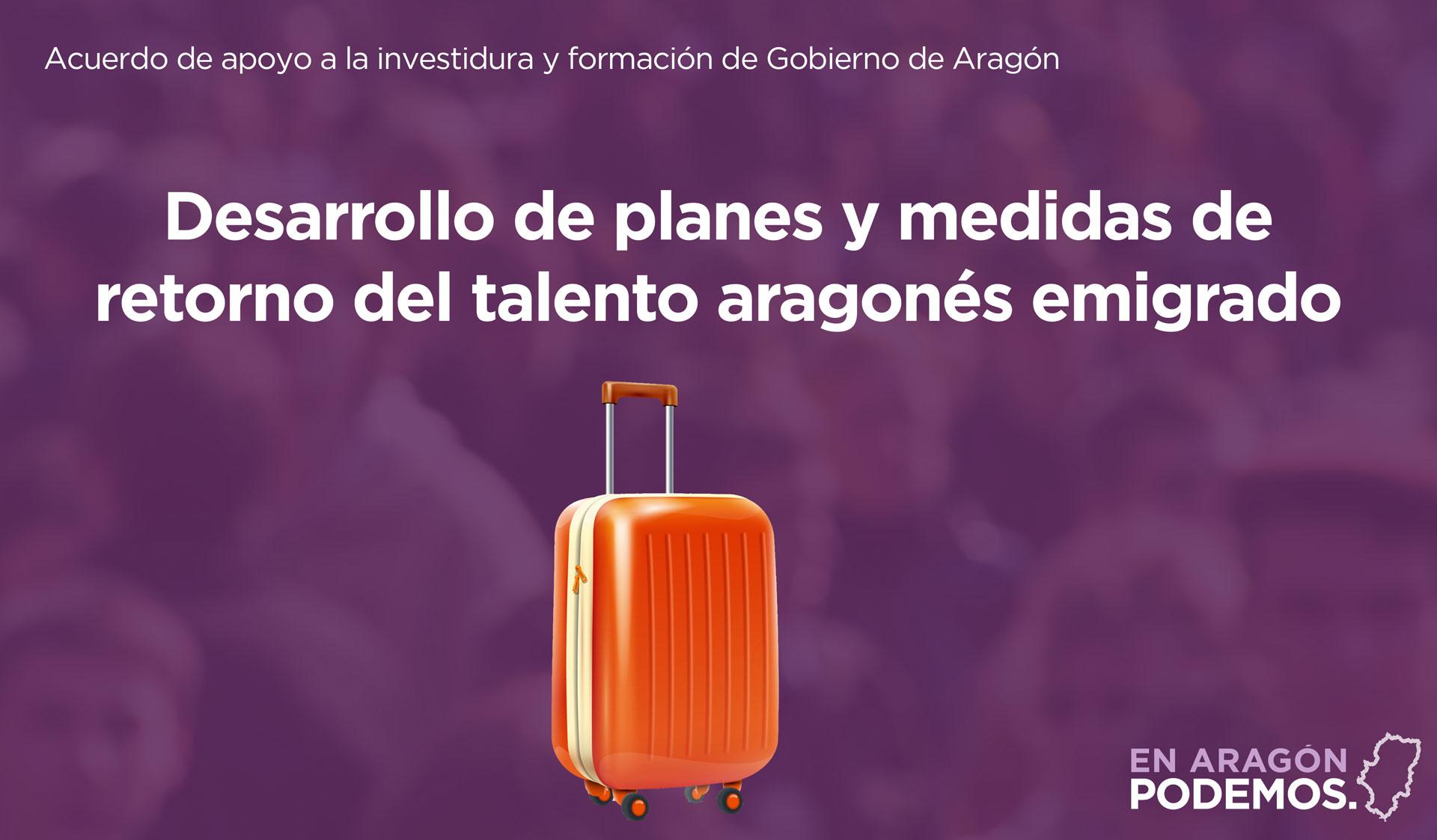Plan de retorno del talento aragonés emigrado