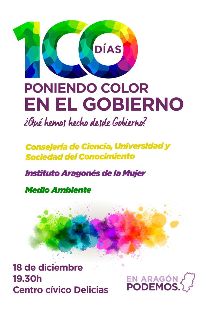100 días de Podemos en el Gobierno de Aragón